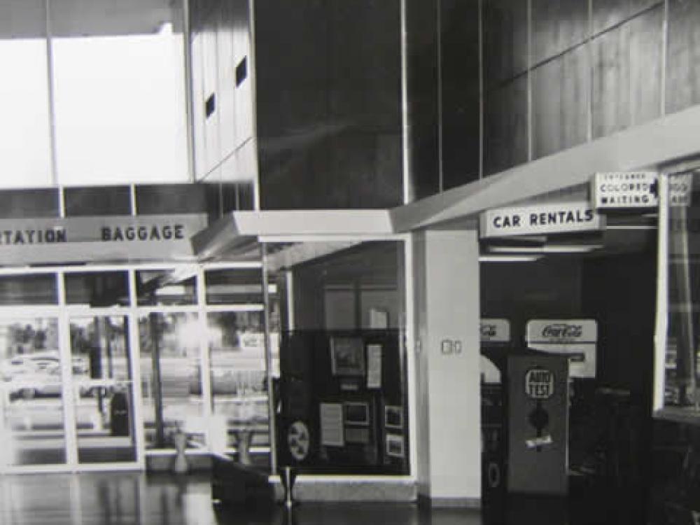 Segregated Montgomery Airport