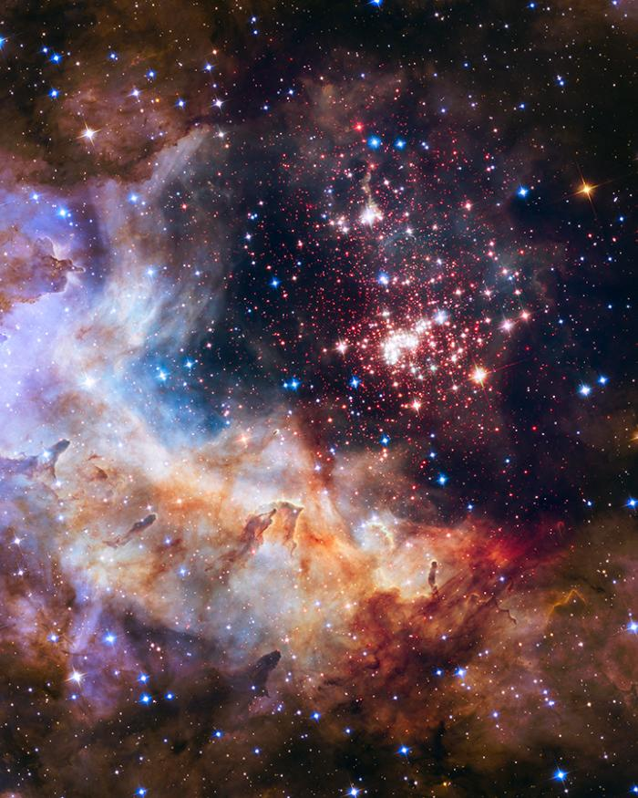 Official Hubble 25th Anniversary Image: Celestial Fireworks