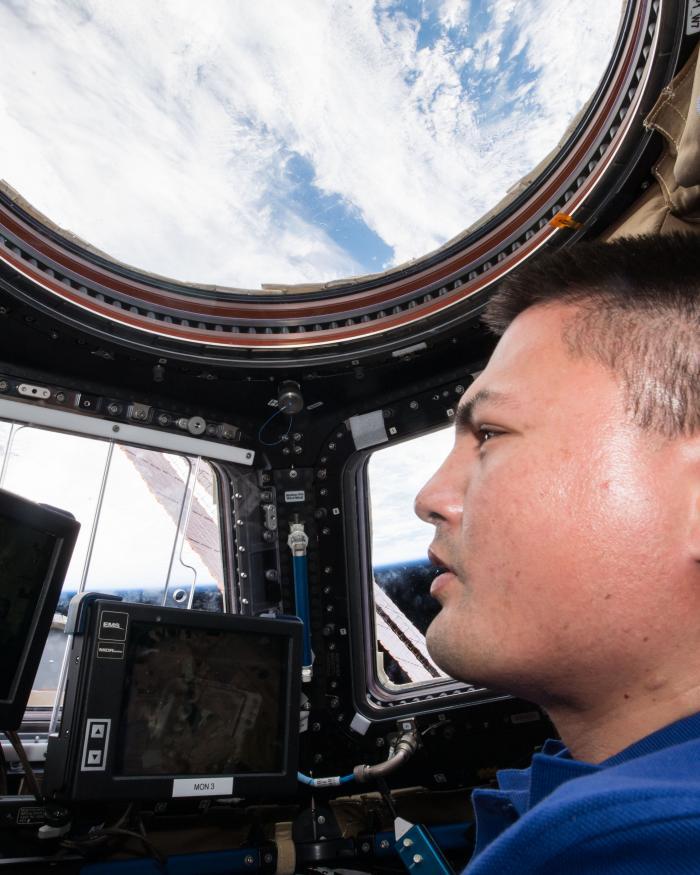 NASA Astronaut Kjell Lindgren