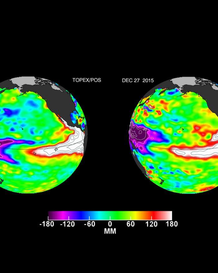 El Niño - Comparing 1997 to 2015