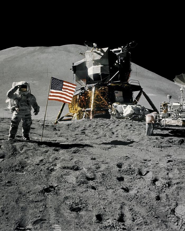 Jim Irwin Apollo 15 Salute