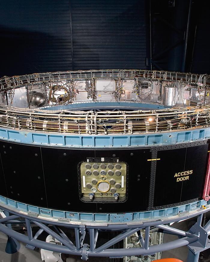 Saturn V Instrument Unit at the Udvar-Hazy Center