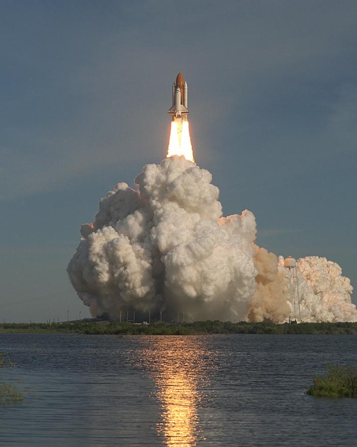 Liftoff of Space Shuttle <i>Columbia</i> on STS-62