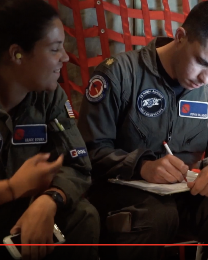 fly with the hurricane hunters