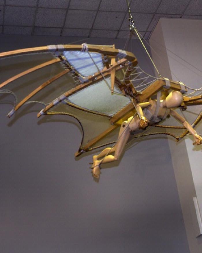 Leonardo da Vinci Ornithopter Model