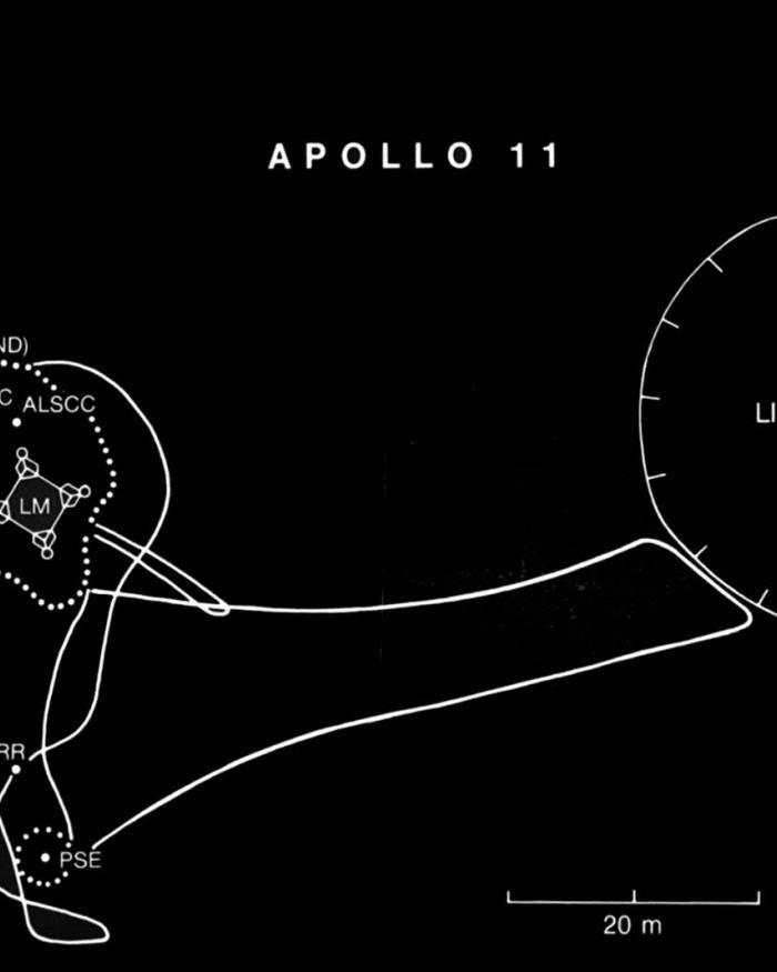 Apollo 11 Traverses