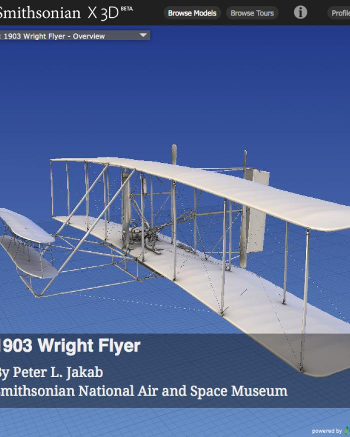 1903 Wright Flyer in 3D