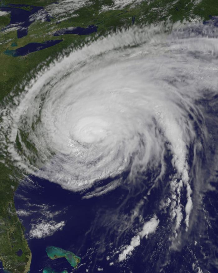 Hurricane Irene from the GOES-13 Satellite