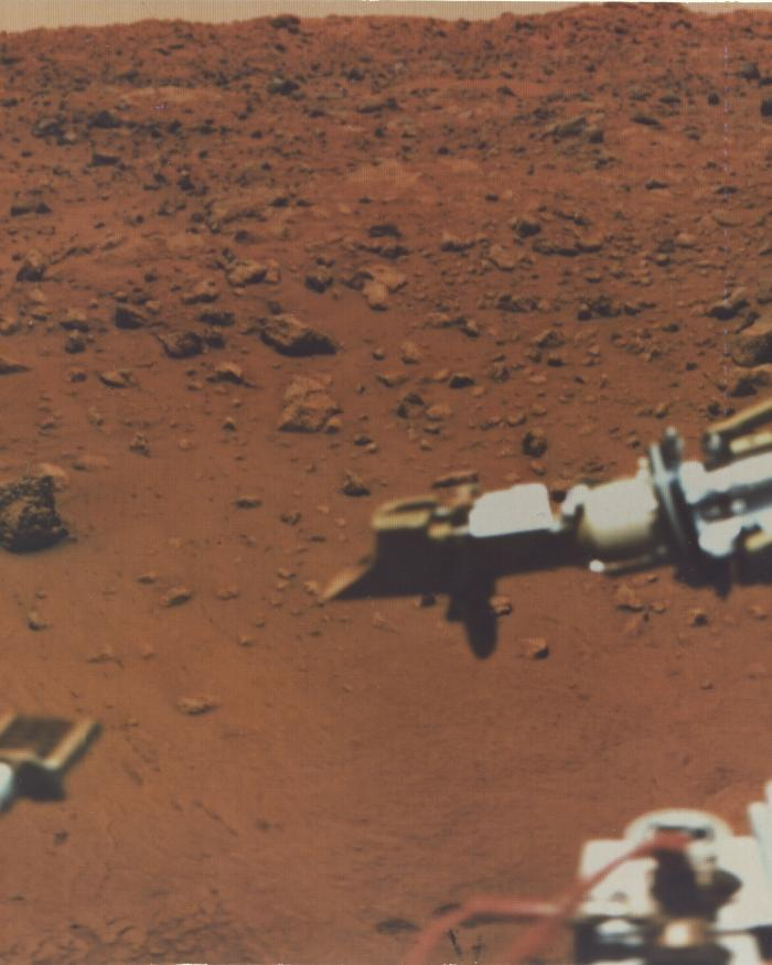 Image Taken by Viking Spacecraft from the Surface of Mars