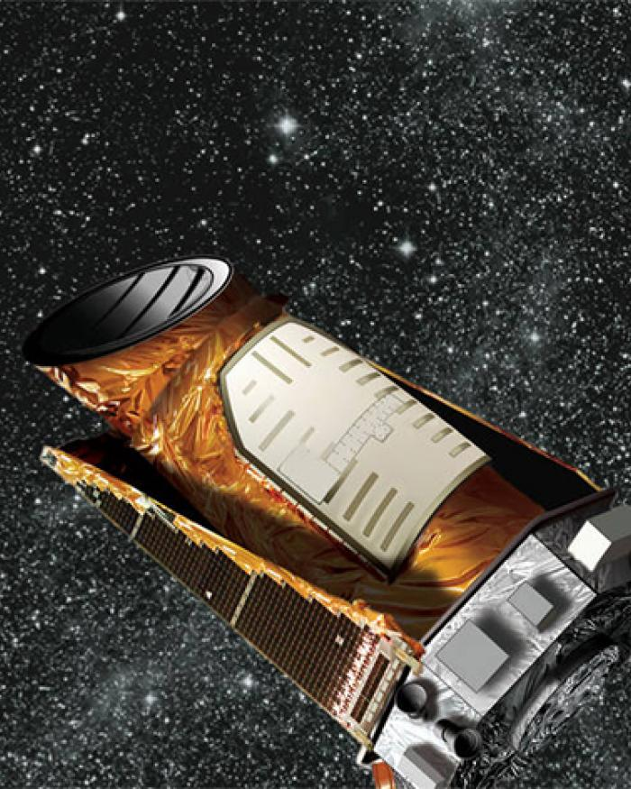 Illustration of the Kepler spacecraft