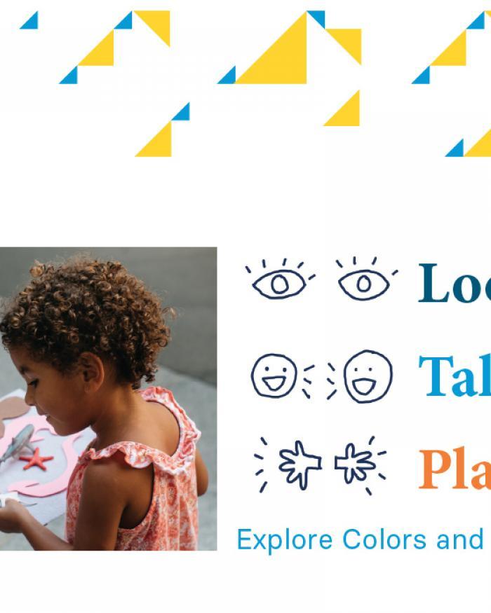 Look Talk Play PDF Activity Thumbnail (English)