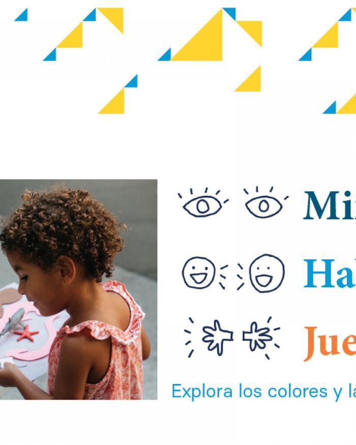 Look Talk Play PDF Activity Thumbnail (Spanish)