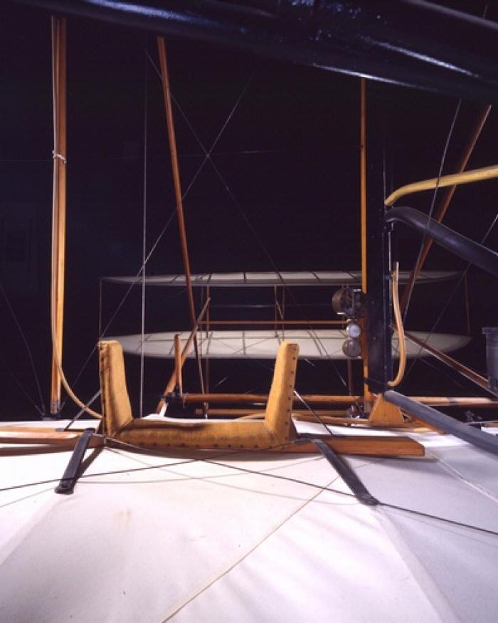 1903 Wright Flyer Cockpit