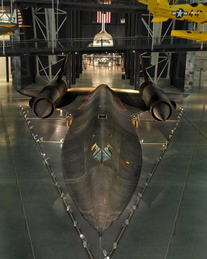 Lockheed SR-71 Blackbird at the Udvar-Hazy Center