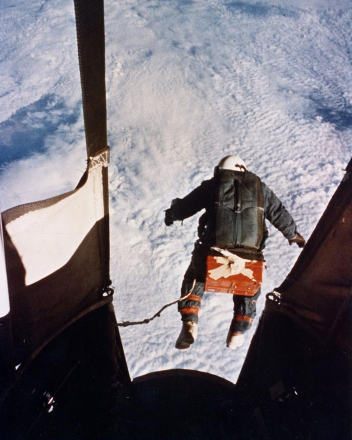 Photograph of Kittinger Jump taken from gondola