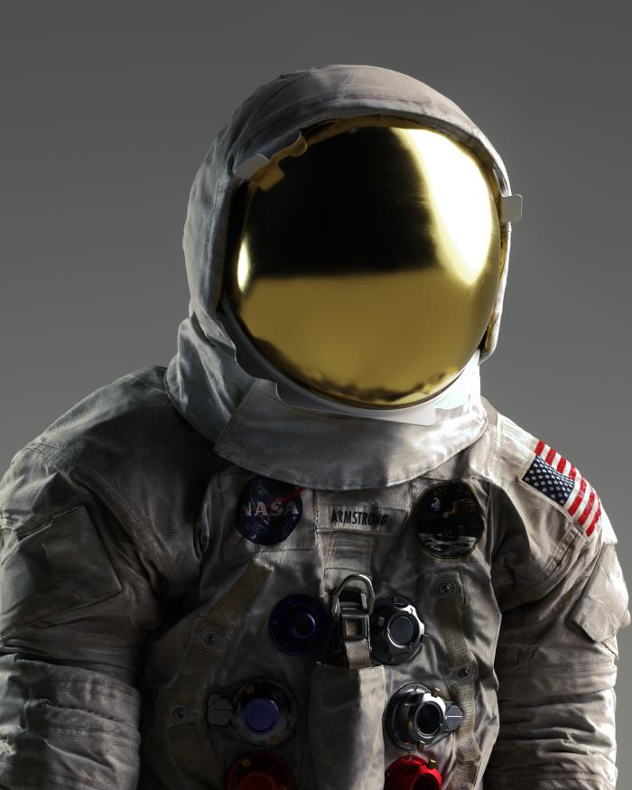 3D Rendering of Armstrong Spacesuit