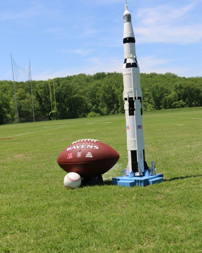 Football and Saturn V