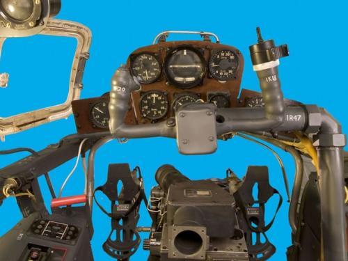 Panoramic image of Arado Ar 234 B-2 Blitz cockpit