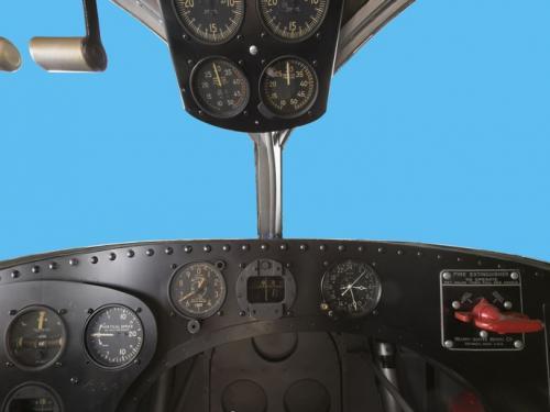 Panoramic photograph of Grumman G-21 Goose