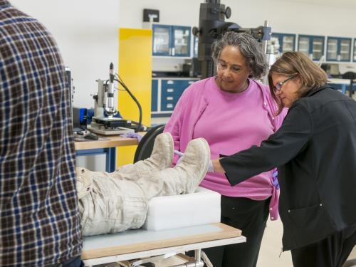 Examining Armstrong's Apollo 11 Boots