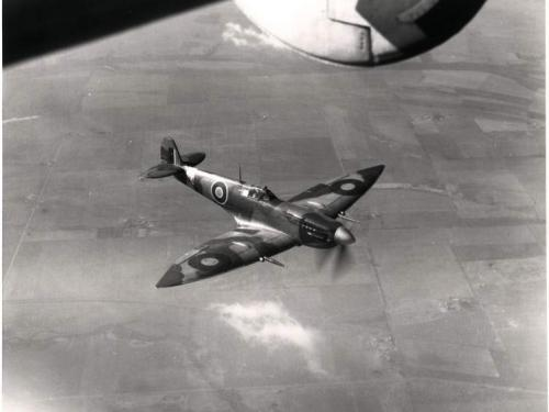 Supermarine Spitfire HF.Mk.VII In Flight
