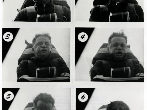 John Paul Stapp Rocket Sled Test