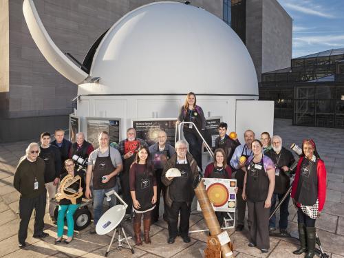 Phoebe Waterman Haas Public Observatory staff and volunteers