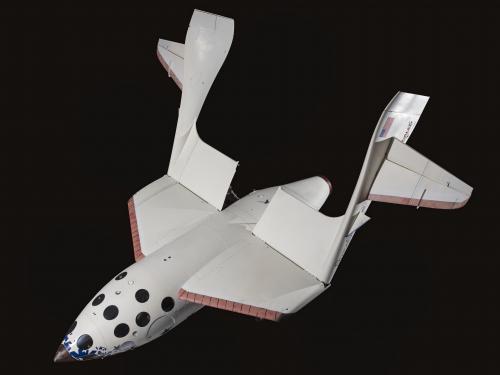 SpaceShipOne Feathered Wings Create Drag