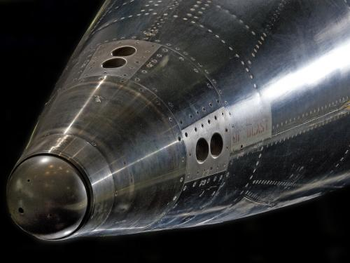 Nose of the North American X-15