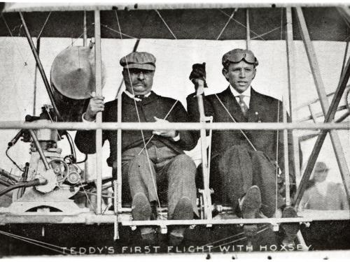 Theodore Roosevelt - First Presidential Flight, 1910