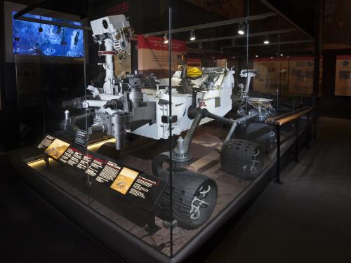 Mars Exploration Rover, Curiosity, Full-Scale Model