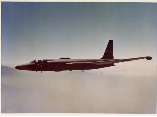 Lockheed U-2B in Flight
