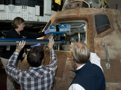 3D Scanning the Apollo 11 Command Module