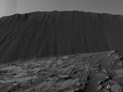 Namib Sand Dune on Mars