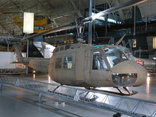 "Bell UH-1H Iroquois ""Huey"" at the Udvar-Hazy Center"