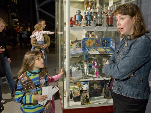 Family Day Women in Aviation and Space at the Steven F. Udvar-Hazy Center