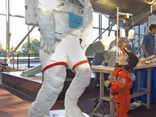 Family Day at the Smithsonian National Air and Space Museum
