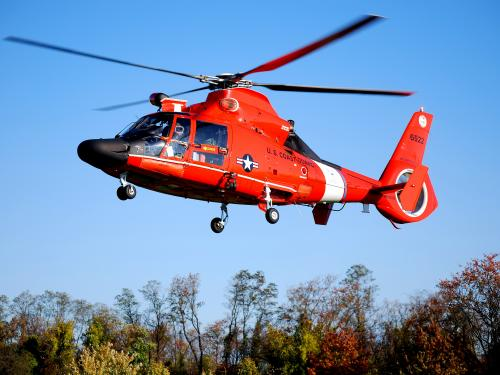 Become a Pilot Day 2012: USCG MH-65D Dolphin