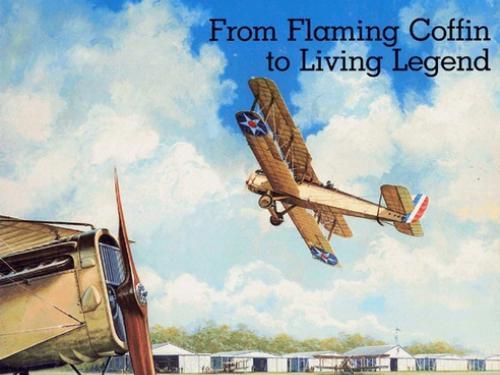 Book cover: de Havilland DH-4