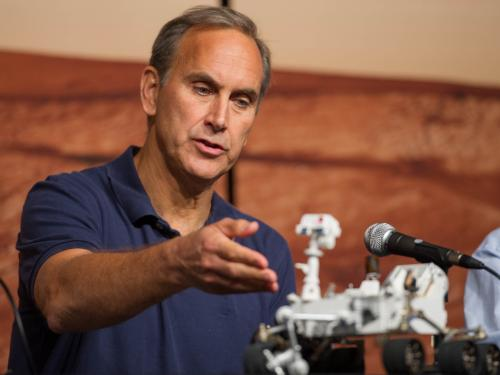John Grotzinger, Chief Scientist, Mars Science Laboratory Mission