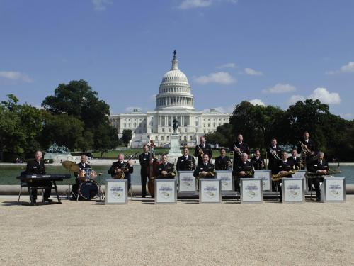 """The U.S. Navy Band """"Commodores"""""""