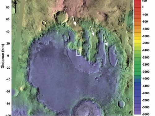 Terby Crater, Mars