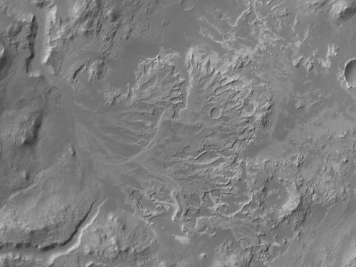 Rivers and Lakes on Mars