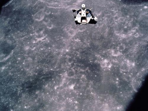 Apollo 17 Lunar Module Ascent Stage