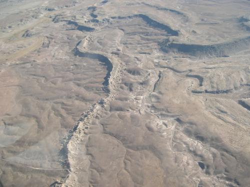 Inverted Channels in Utah