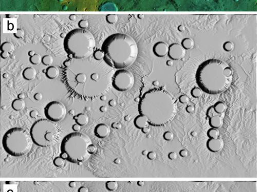 Computer Simulations of Landscape Development on Mars