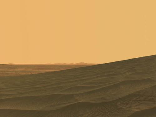 Waves of Sand on Mars