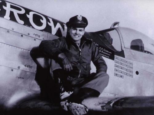 """Col. Clarence E. """"Bud"""" Anderson, USAF (Ret.)"""
