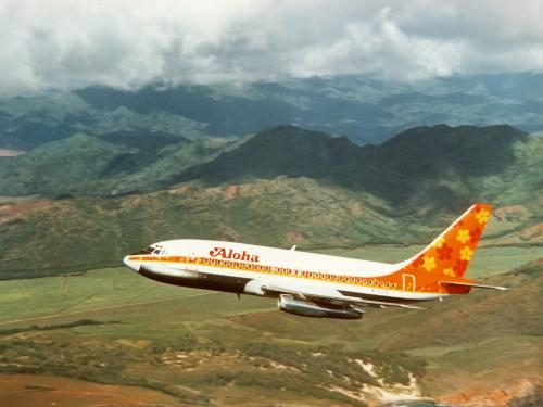 Aloha Airlines Boeing 737, 1969