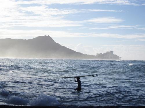 Morning in Waikiki